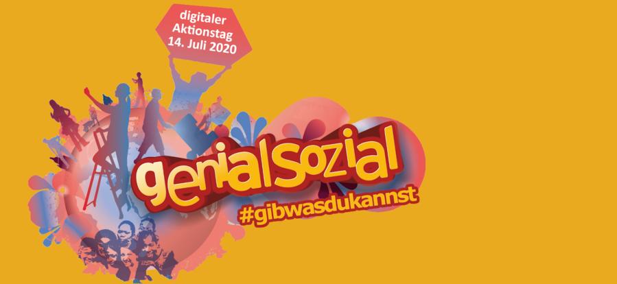 """genial sozial""-Logo"
